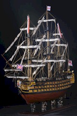 Model Ship of H.M.S. Victory, F/S-W