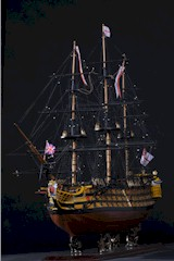 Model Ship of H.M.S. Victory, W/O-W