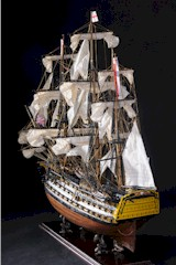Model Ship of H.M.S. Victory, W/S-W